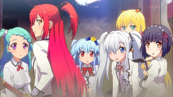 「Z/X Code reunionアニメ」の画像検索結果